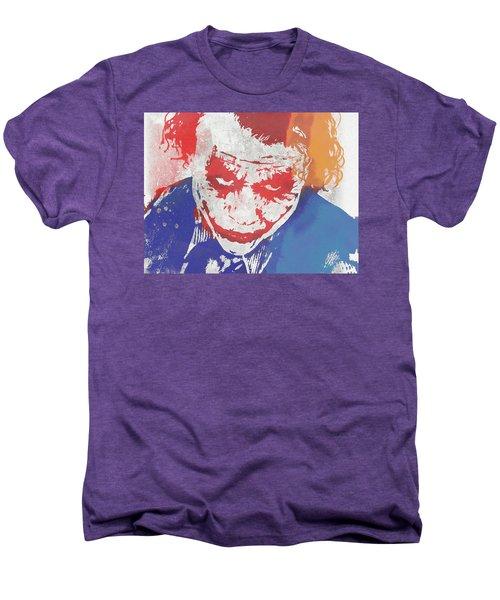 Why So Serious Men's Premium T-Shirt by Dan Sproul