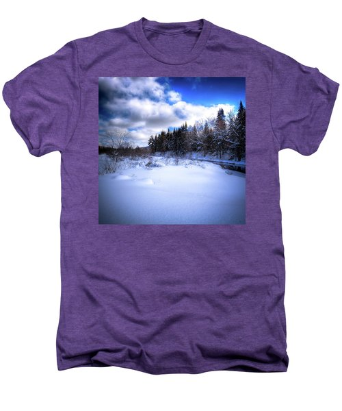 Men's Premium T-Shirt featuring the photograph Winter Highlights by David Patterson