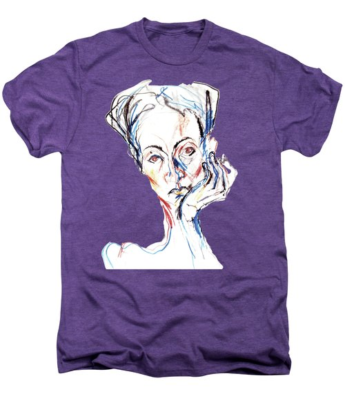 Woman Expression Men's Premium T-Shirt