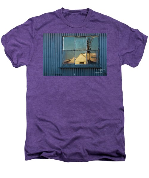 Men's Premium T-Shirt featuring the photograph Work View 1 by Werner Padarin
