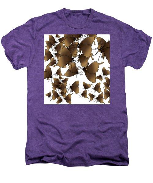 Butterfly Patterns 1 Men's Premium T-Shirt