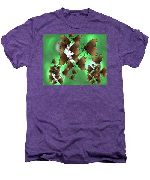 Butterfly Patterns 15 Men's Premium T-Shirt