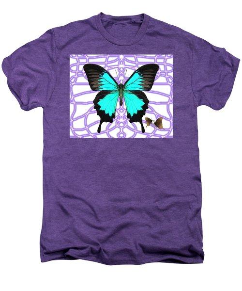 Butterfly Patterns 18 Men's Premium T-Shirt