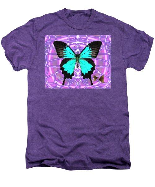 Butterfly Patterns 19 Men's Premium T-Shirt
