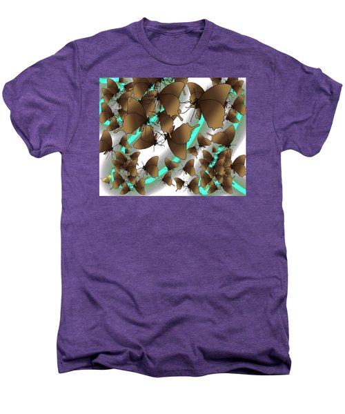 Butterfly Patterns 2 Men's Premium T-Shirt