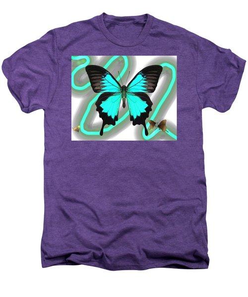 Butterfly Patterns 23 Men's Premium T-Shirt