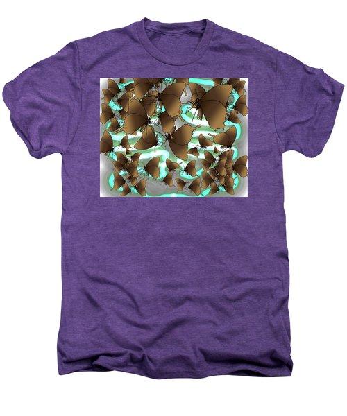 Butterfly Patterns 4 Men's Premium T-Shirt