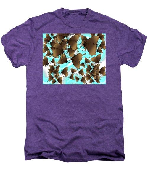 Butterfly Patterns 6 Men's Premium T-Shirt