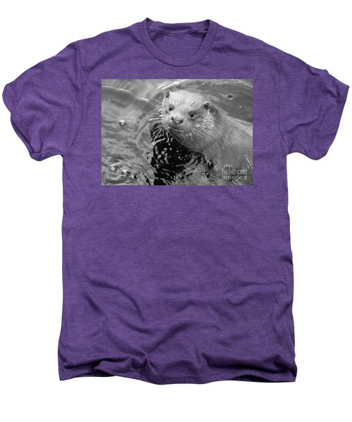 European Otter Men's Premium T-Shirt