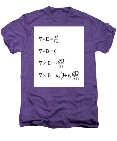Maxwell's Equations Men's Premium T-Shirt
