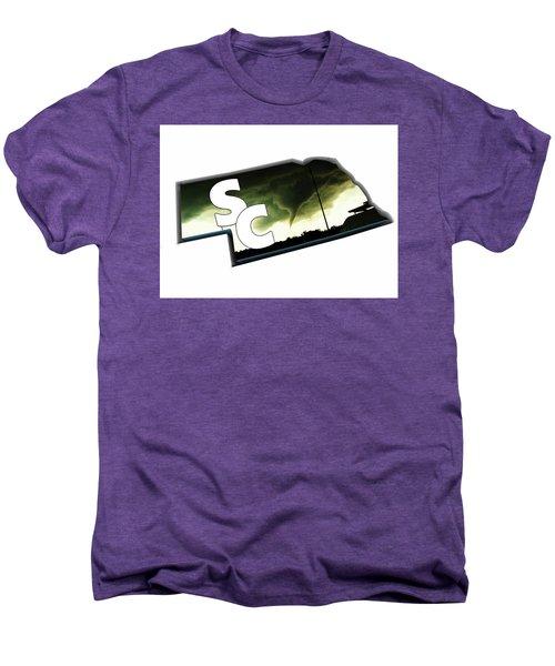 Nebraskasc Logo White Men's Premium T-Shirt