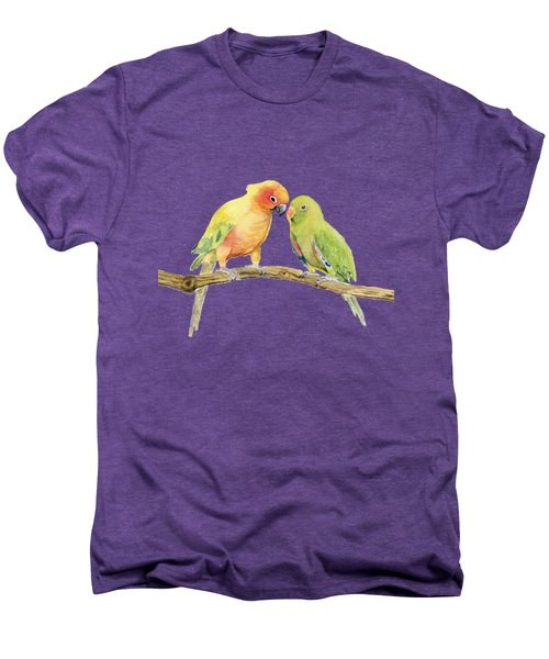 Parakeet - Friendship Men's Premium T-Shirt