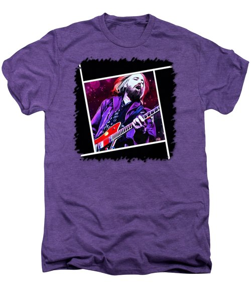 Tom Petty Painting Men's Premium T-Shirt