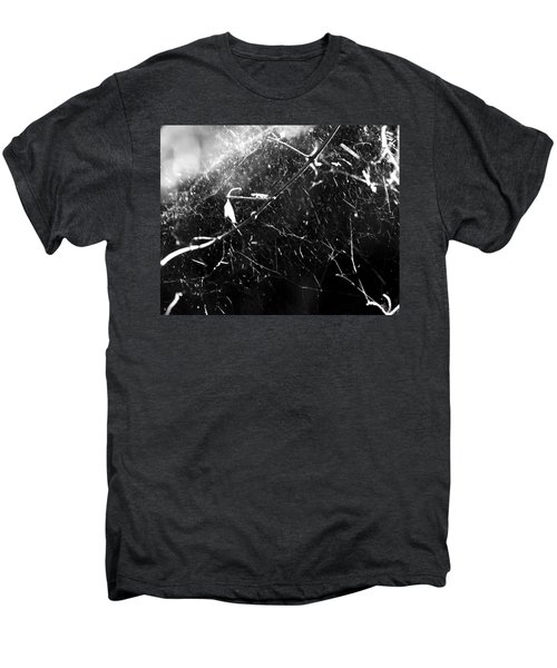 Men's Premium T-Shirt featuring the photograph  Spidernet by Yulia Kazansky