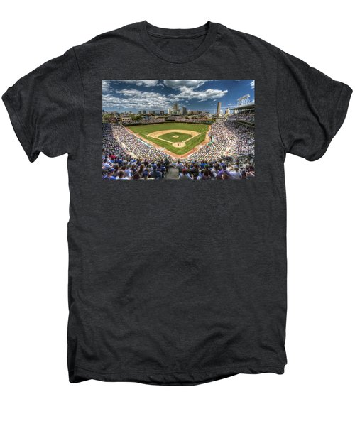 0234 Wrigley Field Men's Premium T-Shirt by Steve Sturgill