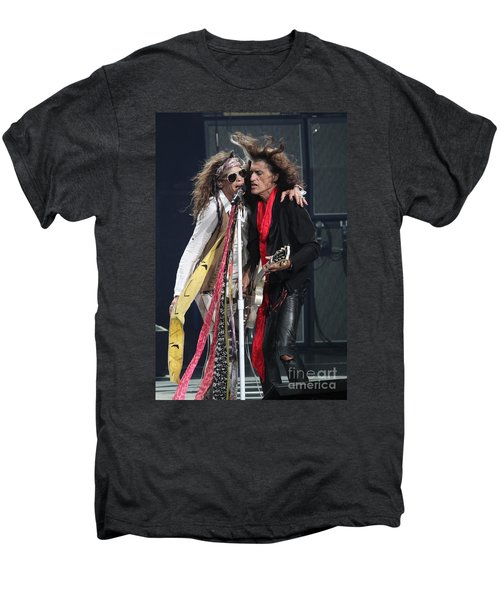 Aerosmith Men's Premium T-Shirt by Concert Photos
