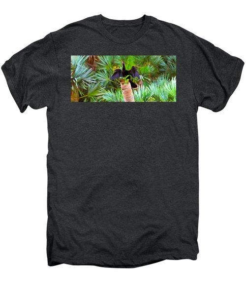 Anhinga Anhinga Anhinga On A Tree Men's Premium T-Shirt