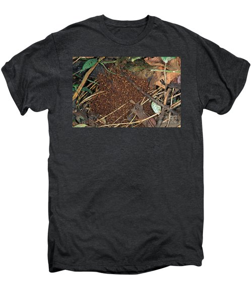Army Ant Bivouac Site Men's Premium T-Shirt by Gregory G. Dimijian, M.D.