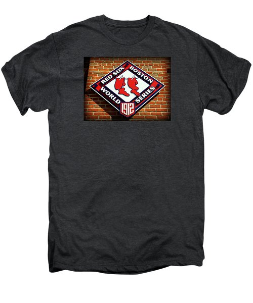 Boston Red Sox 1912 World Champions Men's Premium T-Shirt by Stephen Stookey
