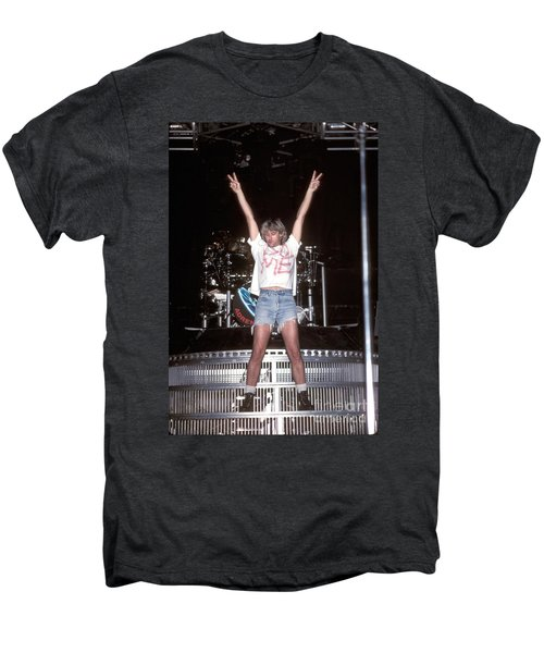 Def Leppard Men's Premium T-Shirt by Concert Photos