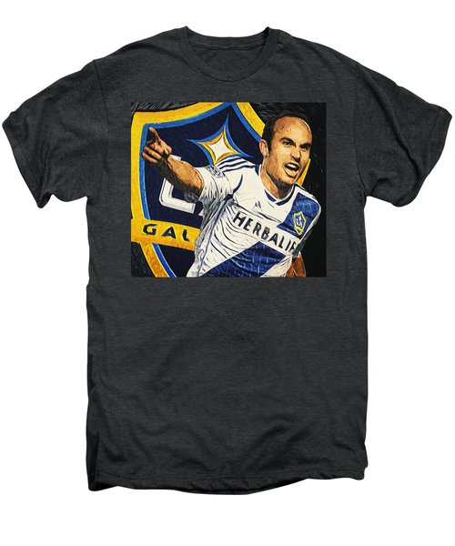 Landon Donovan Men's Premium T-Shirt by Taylan Apukovska