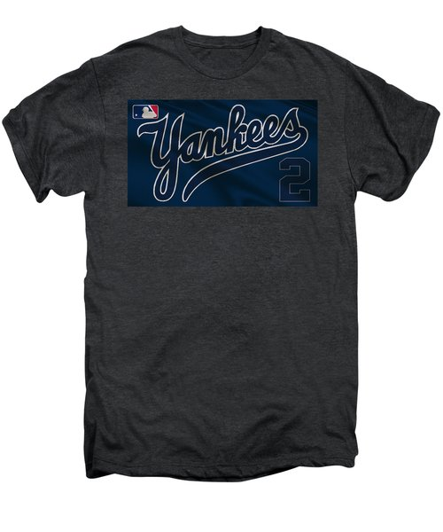 New York Yankees Derek Jeter Men's Premium T-Shirt