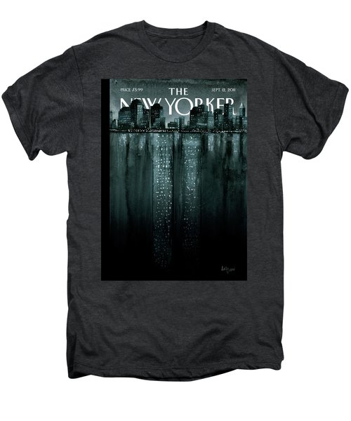 New Yorker September 12th, 2011 Men's Premium T-Shirt