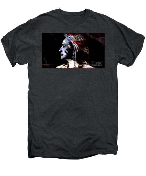 Men's Premium T-Shirt featuring the mixed media Hillary 2016 by Marvin Blaine
