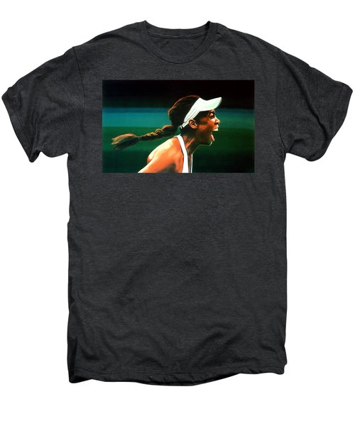 Venus Williams Men's Premium T-Shirt by Paul Meijering