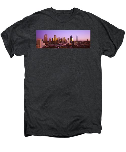 Dallas, Texas, Usa Men's Premium T-Shirt by Panoramic Images
