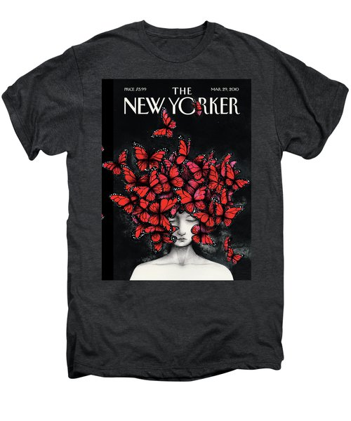 New Yorker March 29th, 2010 Men's Premium T-Shirt