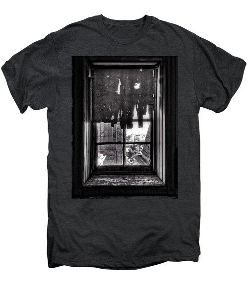 Abandoned Window Men's Premium T-Shirt by H James Hoff