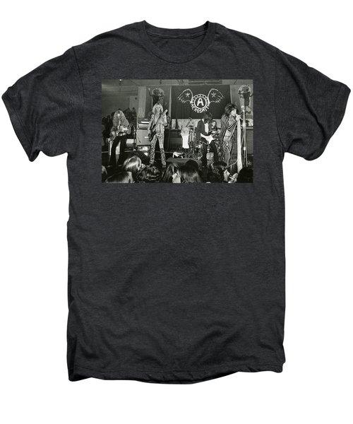 Aerosmith - Aerosmith Tour 1973 Men's Premium T-Shirt by Epic Rights