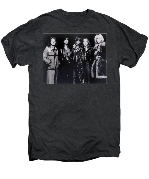 Aerosmith - America's Greatest Rock N Roll Band Men's Premium T-Shirt by Epic Rights