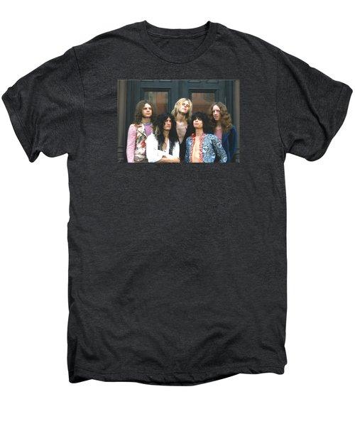 Aerosmith - Boston 1973 Men's Premium T-Shirt by Epic Rights
