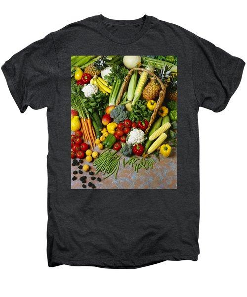 Agriculture - Mixed Fruit Men's Premium T-Shirt