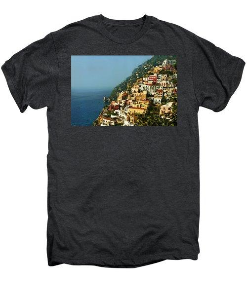 Amalfi Coast Hillside II Men's Premium T-Shirt