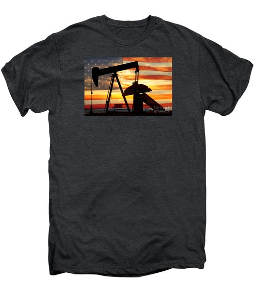 American Oil  Men's Premium T-Shirt