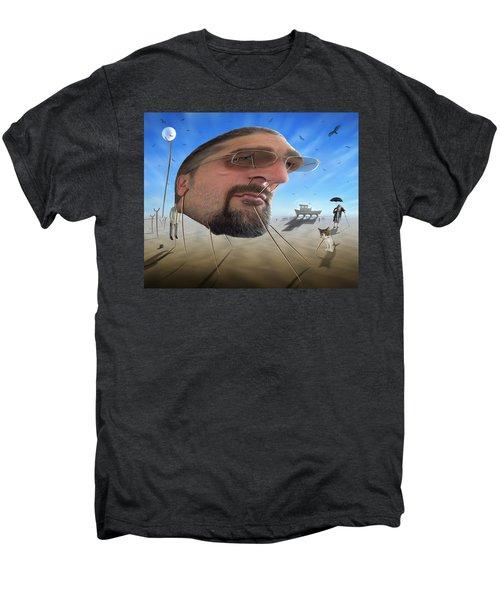 Awake . . A Sad Existence Men's Premium T-Shirt by Mike McGlothlen