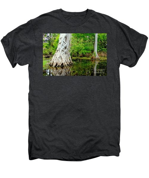 Backcountry Men's Premium T-Shirt by Carey Chen