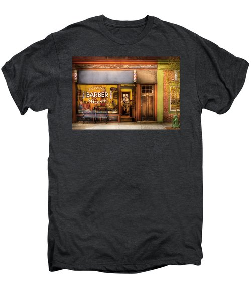 Barber - Towne Barber Shop Men's Premium T-Shirt
