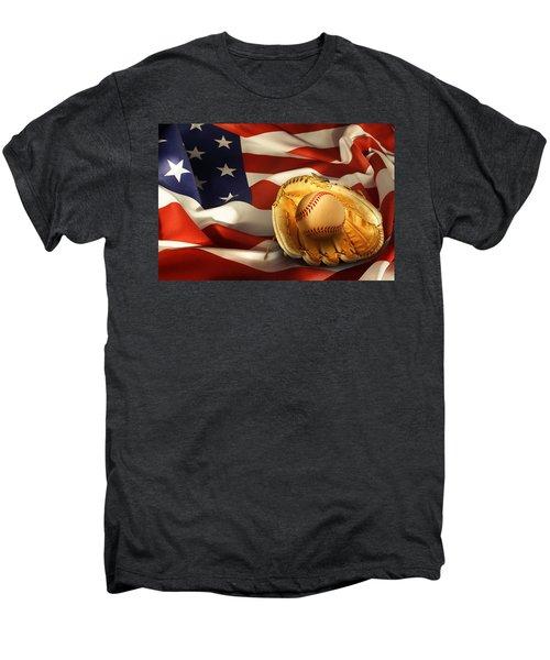 Baseball Men's Premium T-Shirt by Les Cunliffe