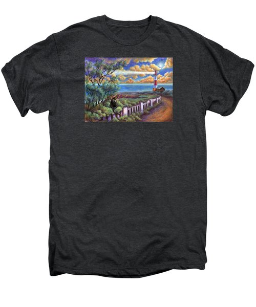 Beacons In The Moonlight Men's Premium T-Shirt