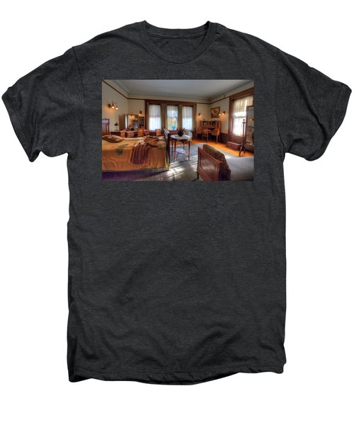 Bedroom Glensheen Mansion Duluth Men's Premium T-Shirt by Amanda Stadther