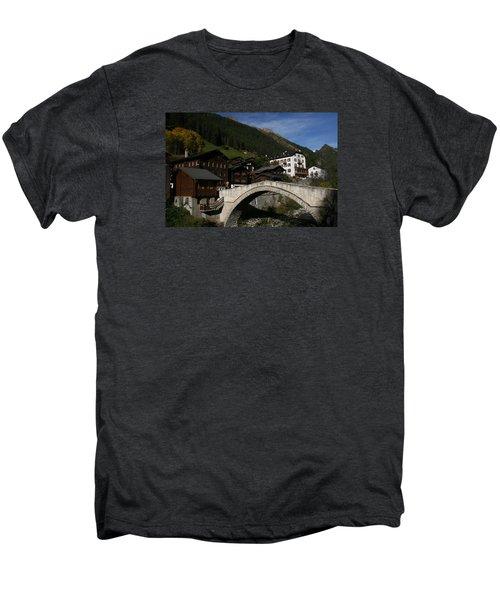 Men's Premium T-Shirt featuring the photograph Binn by Travel Pics