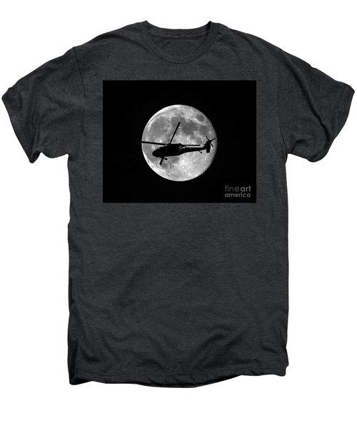 Black Hawk Moon Men's Premium T-Shirt
