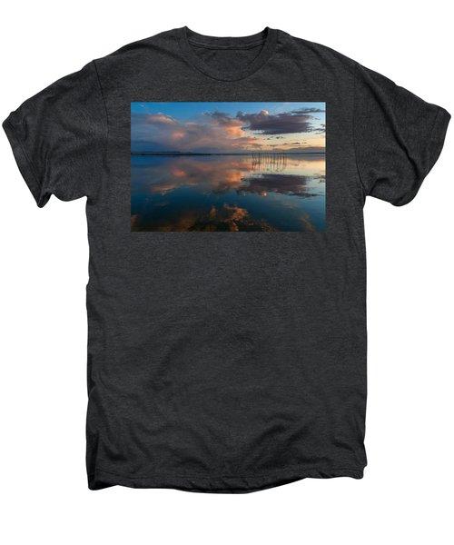 Blue Lagoon. Valencia Men's Premium T-Shirt