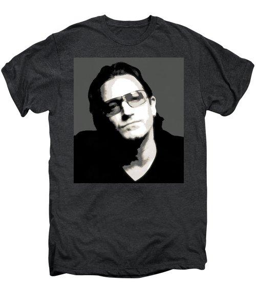 Bono Poster Men's Premium T-Shirt by Dan Sproul