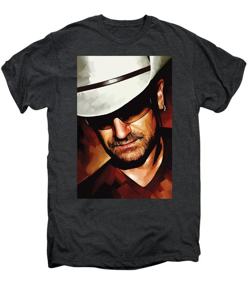 Bono U2 Artwork 3 Men's Premium T-Shirt