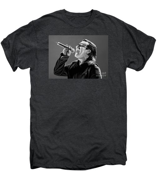 Bono U2 Men's Premium T-Shirt by Meijering Manupix